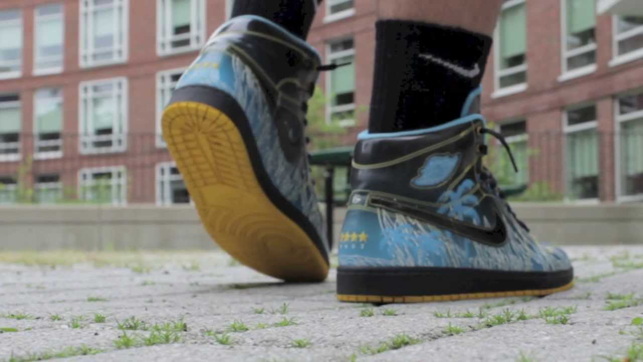 Doernbecher Jordan 1 On Feet Review - Designed by Tony ...