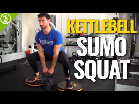 Kettlebell Sumo Squat — TECHNIQUE, FORM, & TUTORIAL