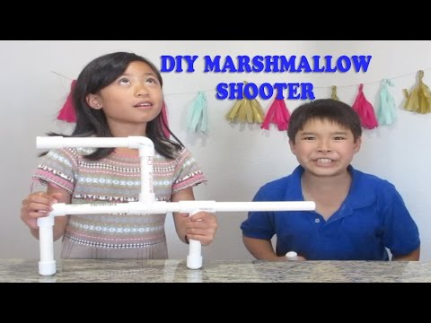How To Make Marshmallow Shooter With Pvc With Nerfgunmodder10
