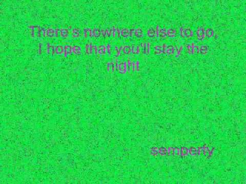 Stay The Night - James Blunt Lyrics