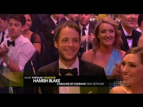 Logies 2013 | Hamish Blake wins Most Popular Presenter