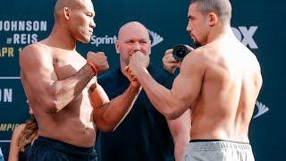 Jacare Souza vs. Robert Whittaker UFC on FOX 24 Weigh-in Staredown - MMA Fighting