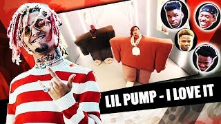 Kanye West Lil Pump Ft Adele Givens I Love It Reaction