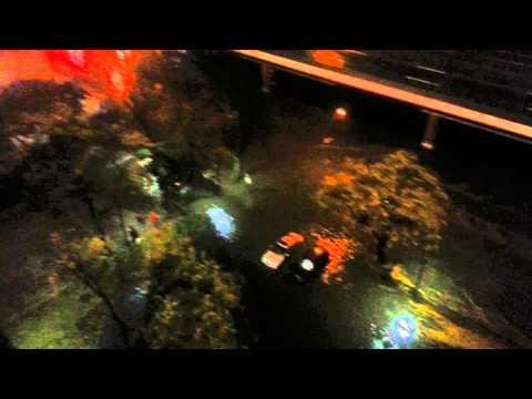 Hurricane Sandy - South Street Manhattan