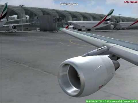 Fs2004 / Turkish Airlines / Airbus A321-111 / Dubai - İstanbul / [Star Alliance]