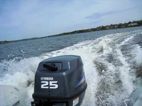 Yamaha 25 hp outboard 2 stroke youtube for Yamaha 25hp 2 stroke outboard