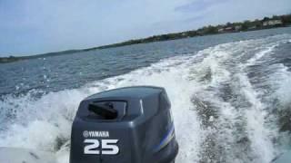 Yamaha 25 HP Outboard 2-stroke