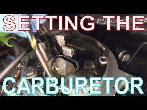 VW Golf Carburetor Adjustments. Setting Fast Idle & Choke on Pierburg 2E2 Carb