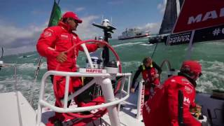 Reply the start of the 'Fastnet' on board MAPFRE! / ¡Así fue la salida del MAPFRE en la `Fastnet´!