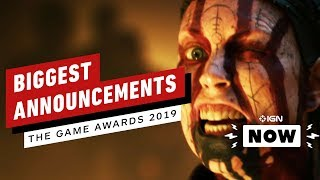 Biggest Announcements From The Game Awards 2019 - IGN Now