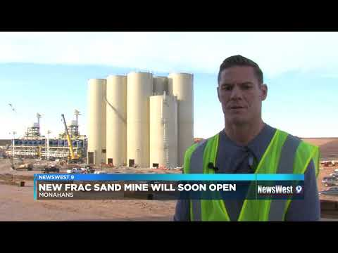 New Frac Sand Mine Opens In Monahans Next Month