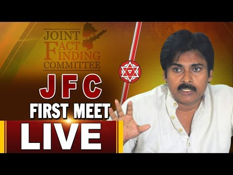 Pawan Kalyan's First JFC Meeting LIVE Along with JP, Undavalli |  PK Live | ABN LIVE
