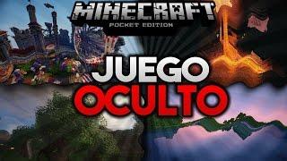 El Juego Oculto & Maldito De Minecraft PE | Minecraft PE 0.15.1 Como Activar El Juego Oculto