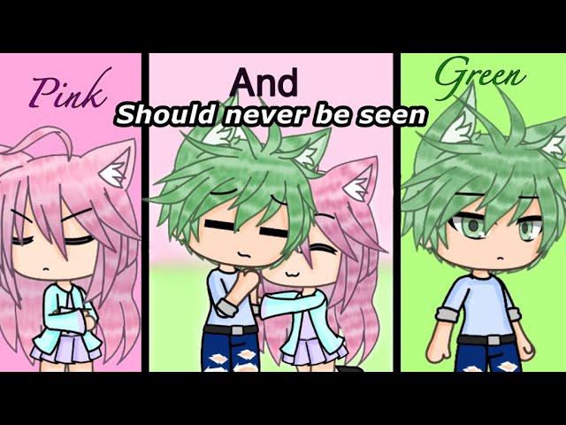"""Pink and green should never be seen"" GLMM (Original Gacha Life Mini Movie)"
