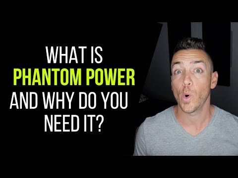 What Is Phantom Power And Why Do You Need It? – RecordingRevolution.com