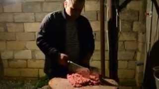 Люля кебаб Бакинским вечером