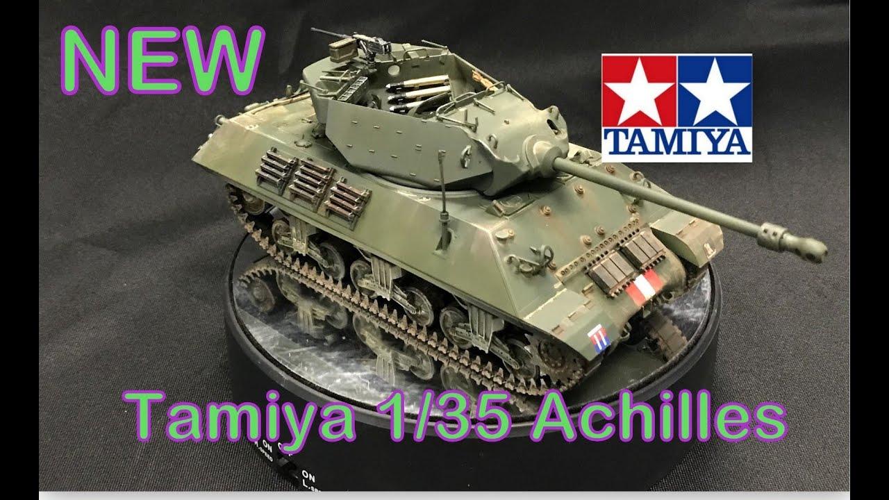 Building the New Tamiya 1/35 Achilles M10 Tank Destroyer Plastic Model kit