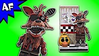 McFarlane Five Nights at Freddy s Phantom Foxy with cam 08 hallway Speed Build