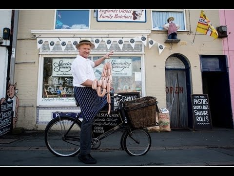 Bridport butchers RJ Balson and Son on BBC One Countryfile