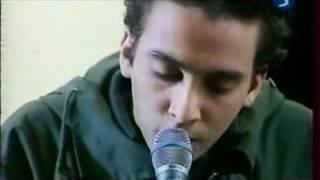 Damien Saez (2 février 2000 - La 5 - En Juin Ce Sera Bien) Jeune Et con