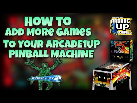 Arcade1Up Pinball Mod Tutorial - Part 1 from COOLTOY