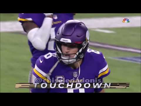 2018 NFL Week 8 Primetime Game Highlight Commentary (Saints vs Vikings & Patriots vs Bills)