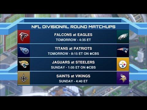 Time to Schein: Divisional Round picks