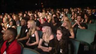 Melinda Ademi - American Idol 2011 S10E09(Feb16) - Hollywood Round Part 2  - Kosovo  (HD)