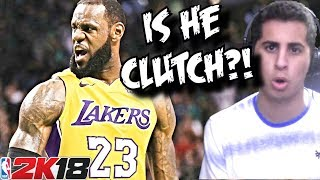 Let's Find Out How CLUTCH Lebron James REALLY IS!!! SIMULATION ON NBA 2K18