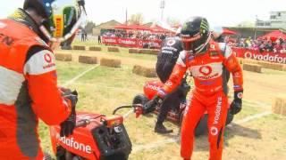 TeamVodafone lawnmower race at Bathurst 2011