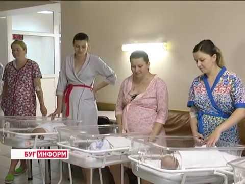 2016-07-01 г. Брест. Акция БРСМ «Подари новорожденному вышиванку».  Новости на Буг-ТВ.