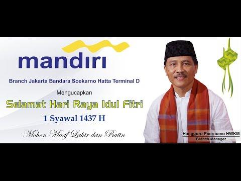 Bank Mandiri Branch Jakarta Soekarno Hatta Terminal 2D - Pengajian Ramadhan 2016