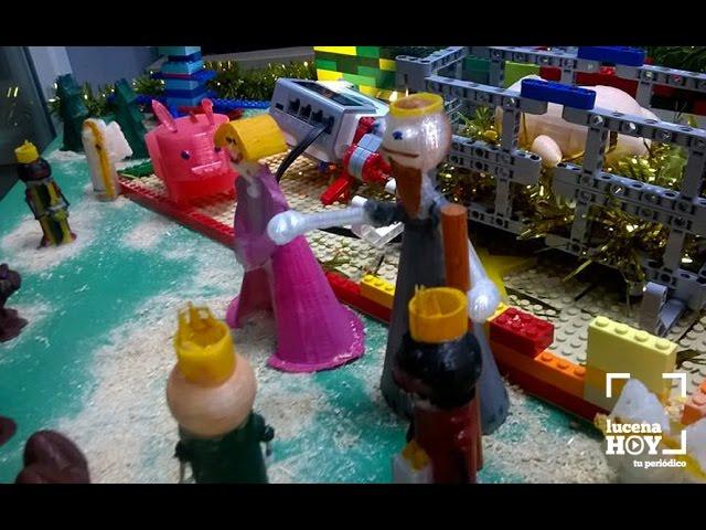 Vídeo: Cerramos ruta belenística con el curioso portal de Educagenios, realizado en una impresora 3D