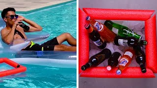 Tis the Sea-son! Pool and Beach Hacks for Summer! | DIY Summer Lifestyle Hacks by Blossom