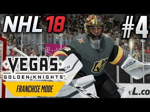 NHL 18 Franchise Mode | Vegas Golden Knights | EP4 | THIS FLOWER CAN TAKE THE VEGAS HEAT (S1G34)