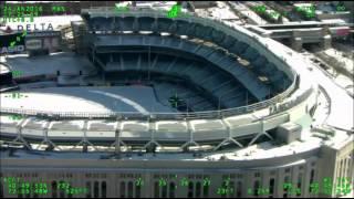 NYPD Aerial Footage Post Snowstorm Jonas