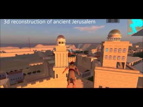 Holy City - 3D reconstruction of ancient Jerusalem