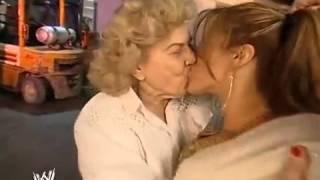 vuclip Mae kiss Mickie James