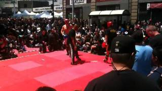 James Appleberry Muay Thai Fight