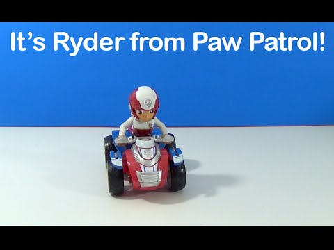 unboxing-paw-patrol-ryder's-rescue-atv,-vehicle-and-figure