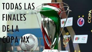 Todas las Finales de la Copa MX (2012-2017)