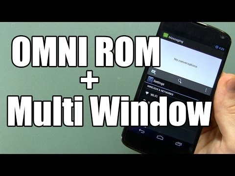 OMNI ROM Beta for NEXUS 4