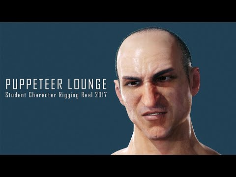 Puppeteer Lounge Student Character Rigging Showreel | 2017