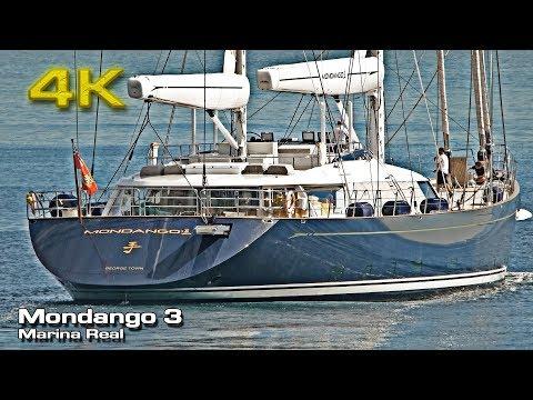 Super Yacht Mondango 3 [4K] Marina Real