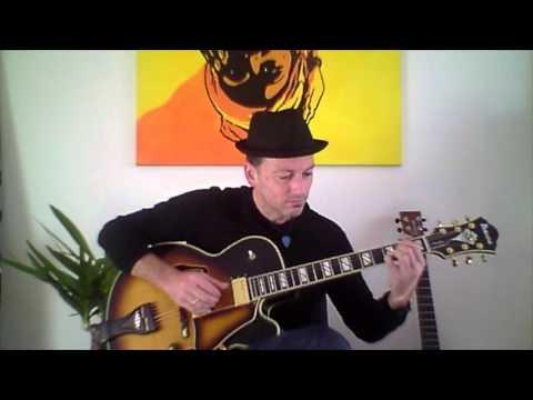 """""""Rock With You"""" -M. Jackson- Jazz-Guitar by Jo. Vogel"""