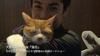 映画『猫忍』完成披露試写会が行われ本作で主演を務める大野拓朗が舞台...