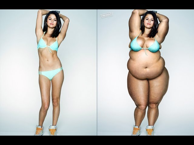 Selena Gómez gets fat | Photoshop 😋🍩