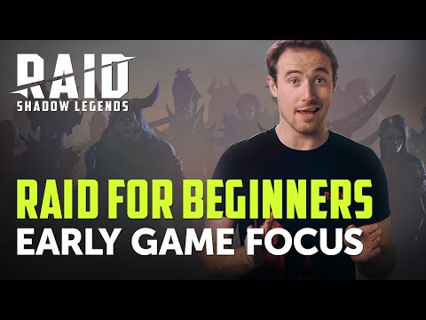 Raid: Shadow Legends | RAID For Beginners | Early Game Focus