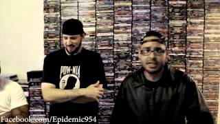 Epidemic spits incredible bars for R.A The Rugged Man