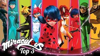 MIRACULOUS | 🐞 HEROES 🔝 | SEASON 3 | Tales of Ladybug and Cat Noir